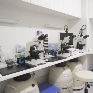 精子検査室